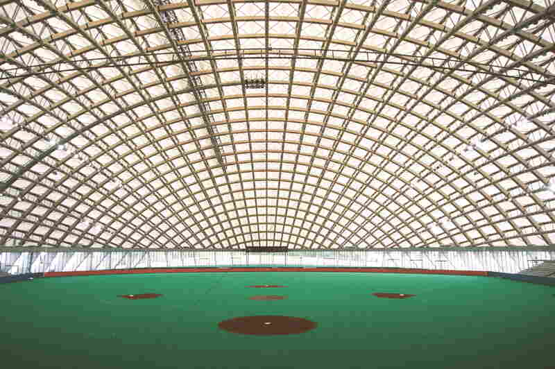Dome in Odate (multipurpose dome), Odate-shi, Akita, Japan
