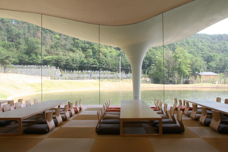 Meiso no Mori, Municipal Funeral Hall, 2004-2006, Kakamigahara-shi, Gifu, Japan