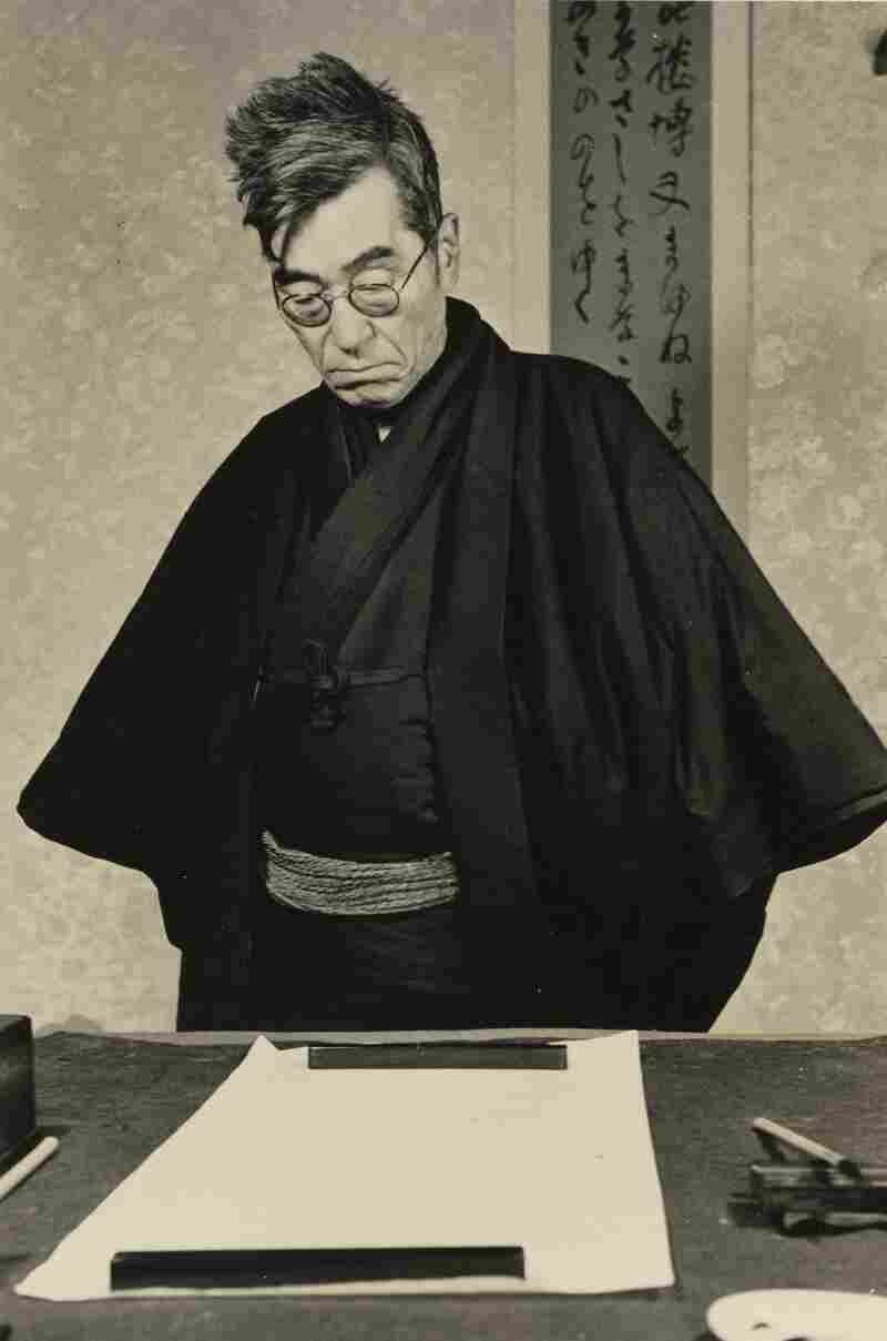 Yaichi Aizu, Poet, Calligrapher, and Japanese Art Critic, 1947