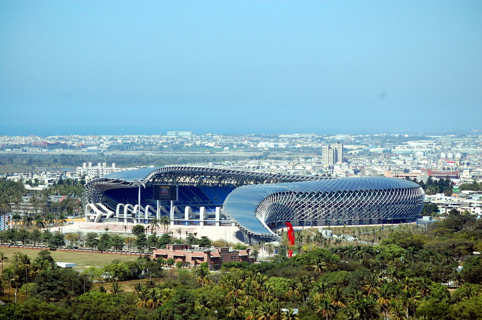 Main stadium for the World Games 2009, 2006-2009 Kaohsiung, Taiwan R.O.C. (Toyo Ito & Associates,  Architects)