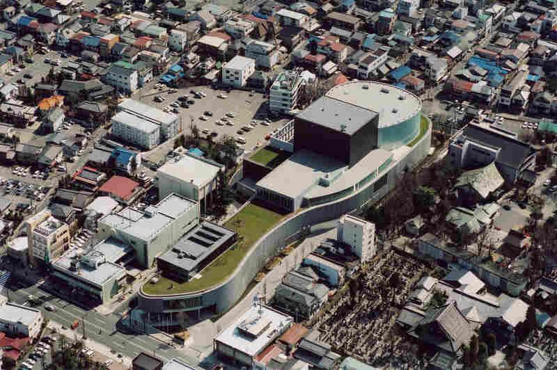 Matsumoto Peforming Arts Centre, 2000-2004, Matsumoto-shi, Nagano, Japan
