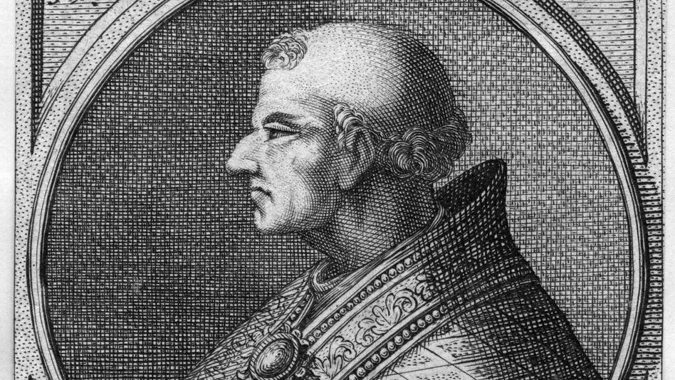 Pope John II, whose name at birth was Mercurius. When he became pope in 533 he changed his name — starting a tradition that continues. (Getty Images)