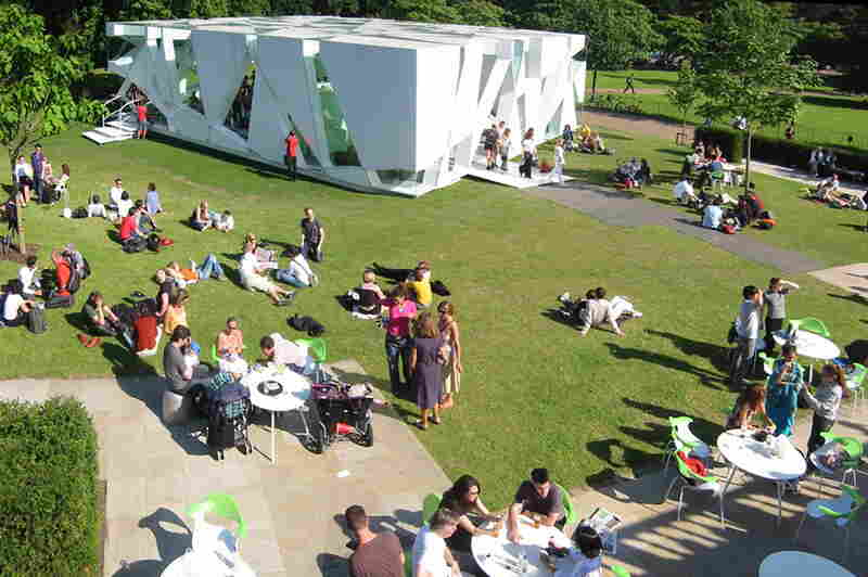 Serpentine Gallery Pavilion, 2002, London, U.K.