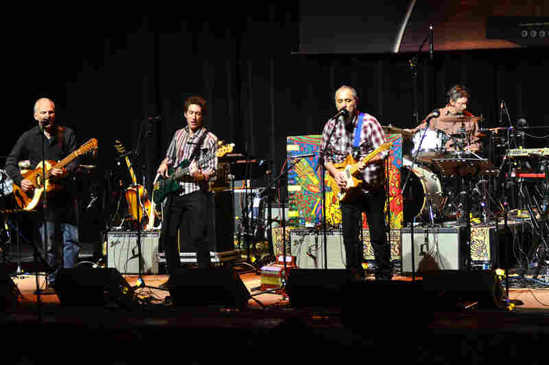 The Iguanas perform live at Mountain Stage.