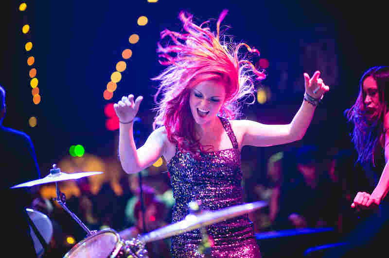 Dance from your hair: Brieanna Stromberg of Party Rockers plays The Bat Bar.