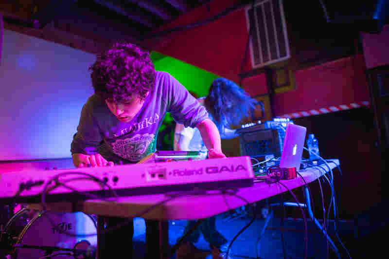 Supreme Cuts played glistening synths and haunting beats at The Mohawk.