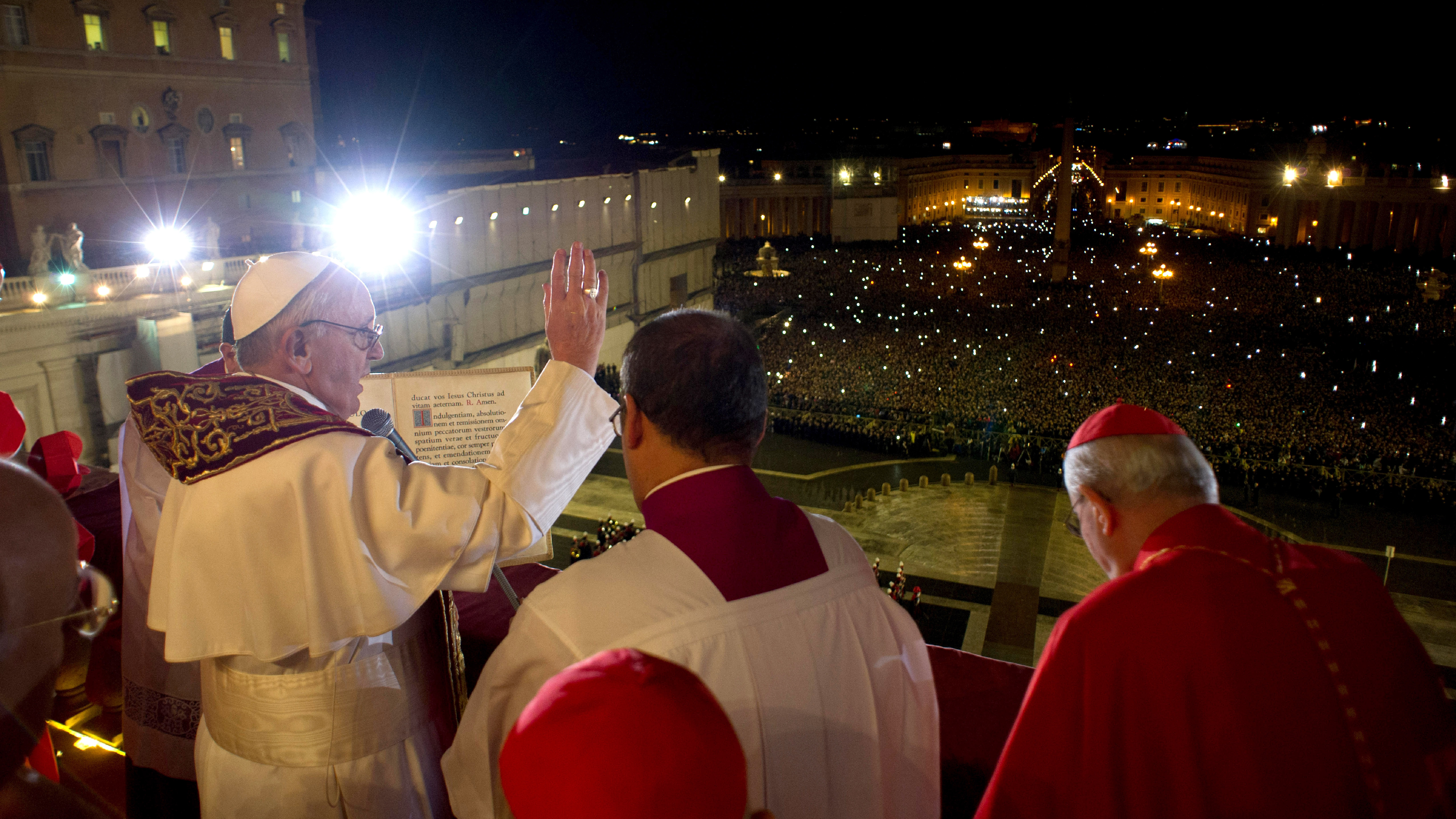 Pope Francis: A Saintly Name, Hold The 'I' : NPR