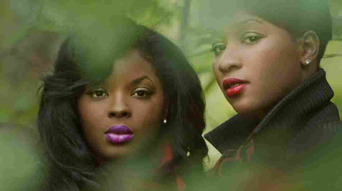 R&B singers Nicole Wray and Terri Walker have teamed up as the duo Lady.