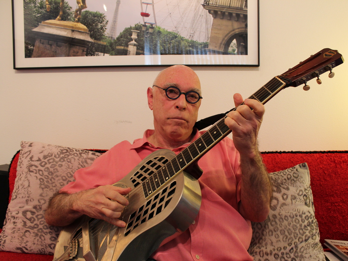 At age 71, nearly 50 years after his first album, guitarist Harry Taussig is releasing a follow-up — and making his concert debut at South by Southwest.