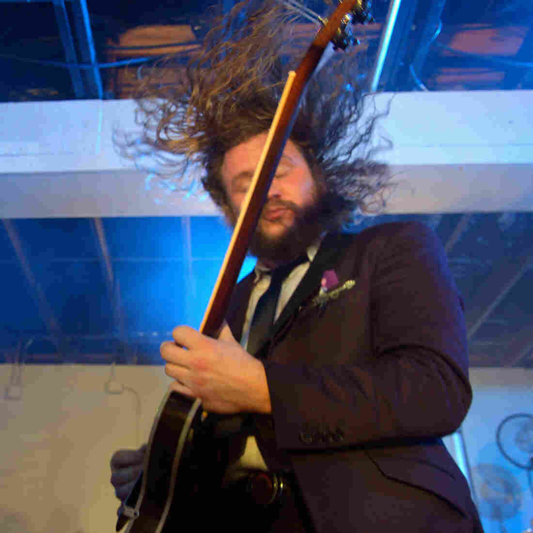 Jim James onstage during the opening night of the 2013 SXSW Music festival in Austin, Texas.