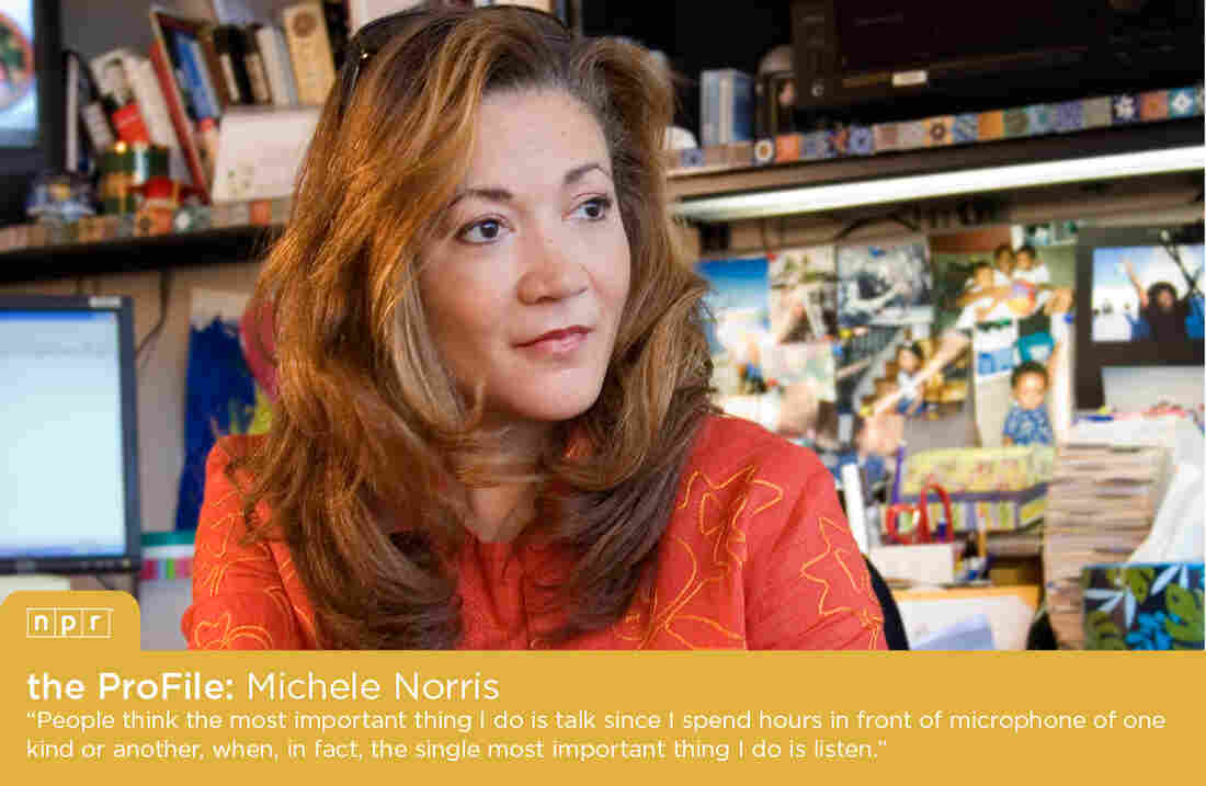 NPR Host and Special Correspondent Michele Norris.
