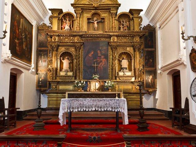 Jesuit Mission in Santa Catalina in Cordoba in Argentina.