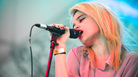 Sky Ferreira plays The Fader Fort at SXSW 2013.