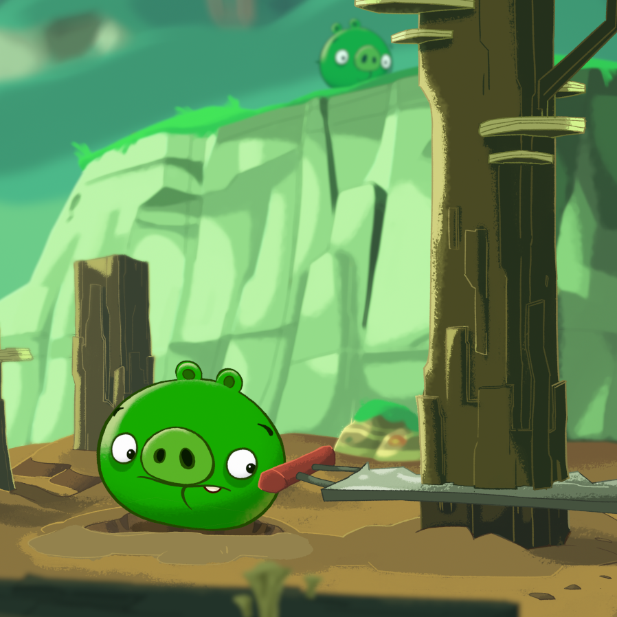 The Angry Birds show, like the game that inspired it, focuses on the long-standing battle between a group of colorful birds and the greedy pigs who have stolen their eggs.