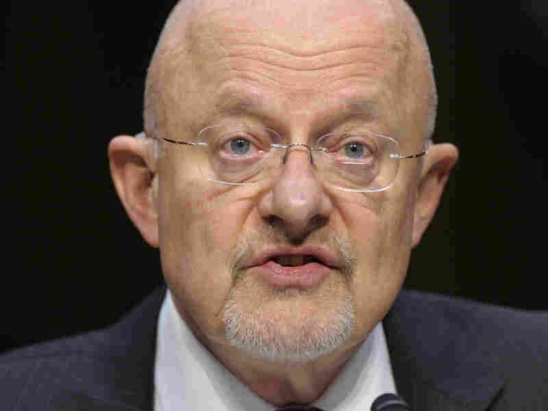 Director of National Intelligence James Clapper says the danger of a devastating cyberattack is the No. 1 threat facing the U.S. He made the assessment Tuesday on Capitol Hill before the Senate Intelligence Committee hearing on worldwide threats.