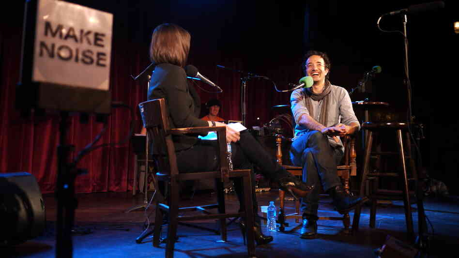 """I feel sort of like a vampire would feel. I want to suck the blood of science and dispose of the corpse."" - Jad Abumrad, this week's V.I.P. (that's Very Important Puzzler) and host of the public radio show Radiolab."