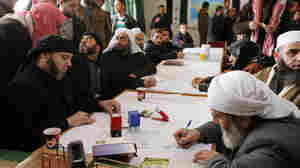 Courts Become A Battleground For Secularists, Islamists In Syria