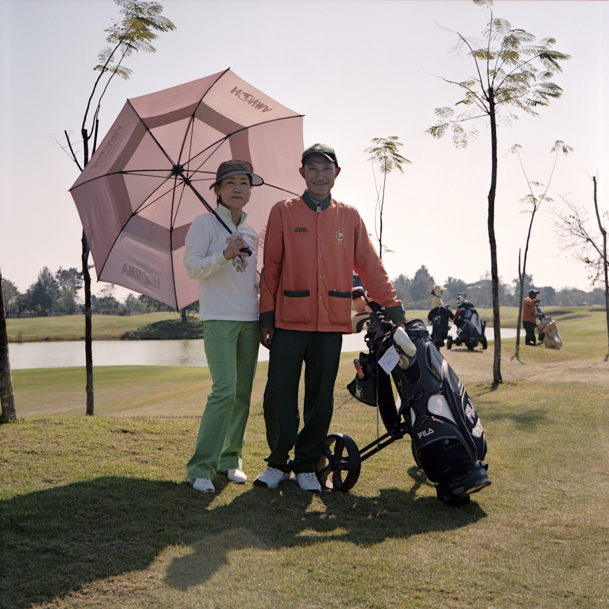 The Laos Country Club, the first golf club in Vientiane, was built by Korean investors.