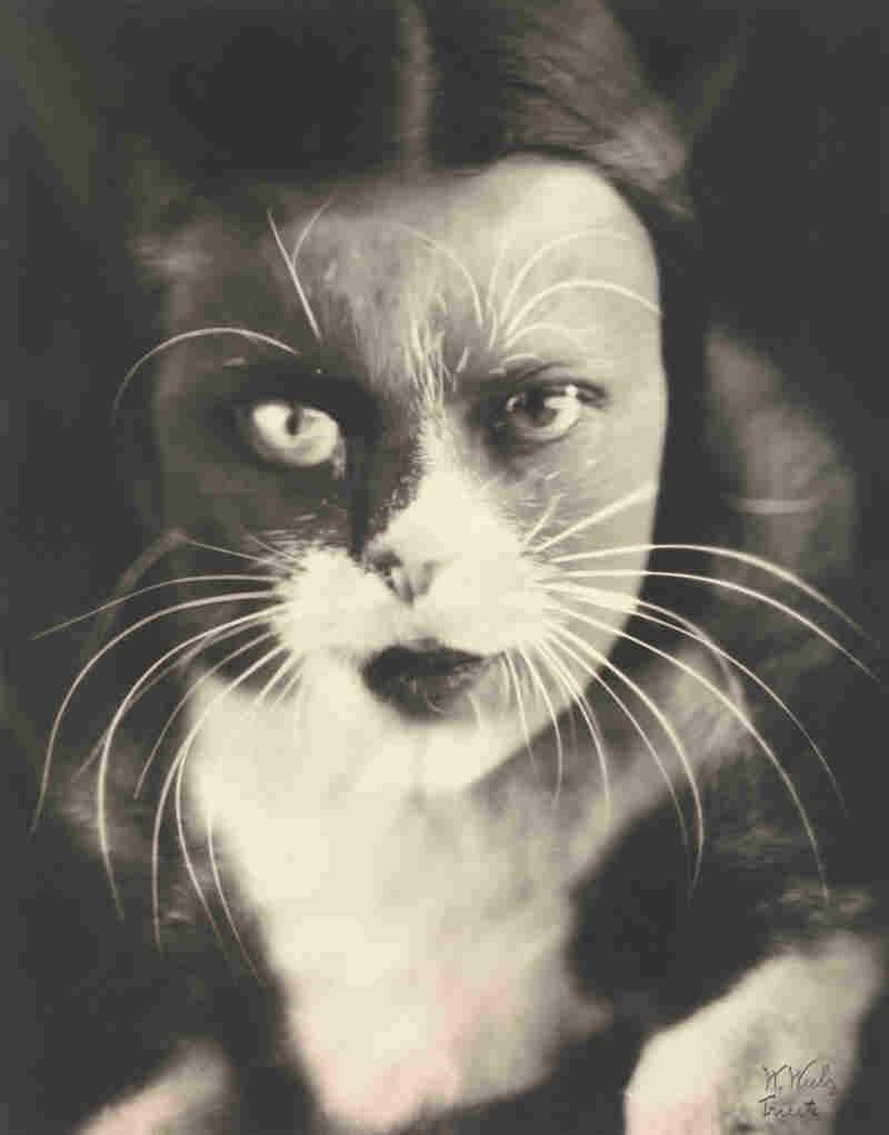 Io + gatto (Cat + I), 1932 (Wanda Wulz)