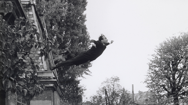 Leap into the Void, 1960 (Yves Klein, Harry Shunk and Jean Kender) (Courtesy of the National Gallery of Art)