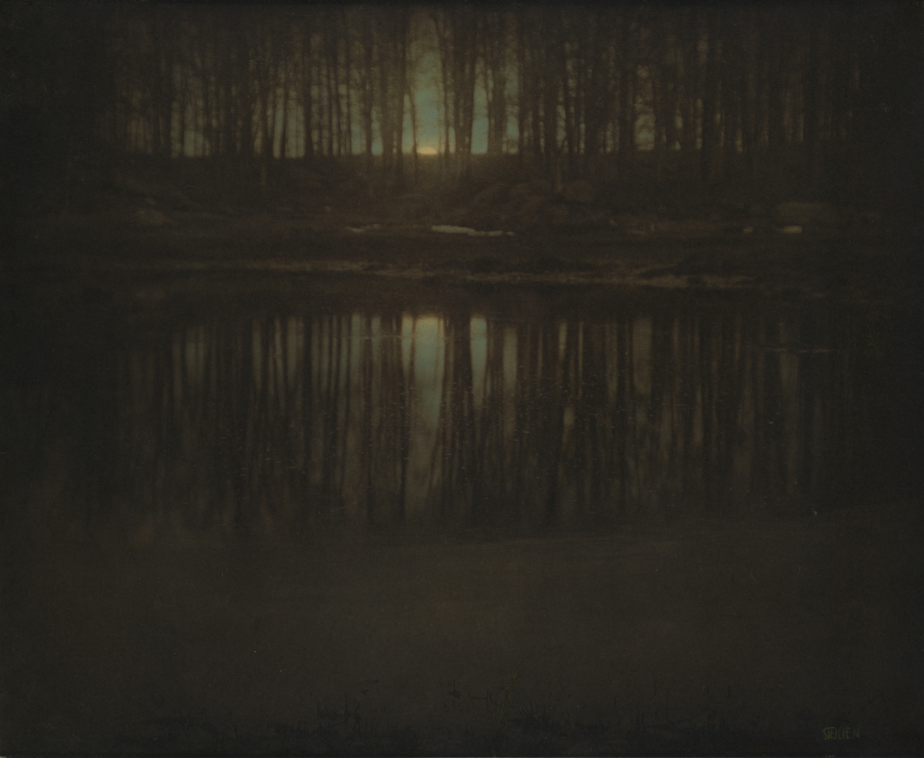 The Pond -- Moonrise, 1904 (Edward Steichen)