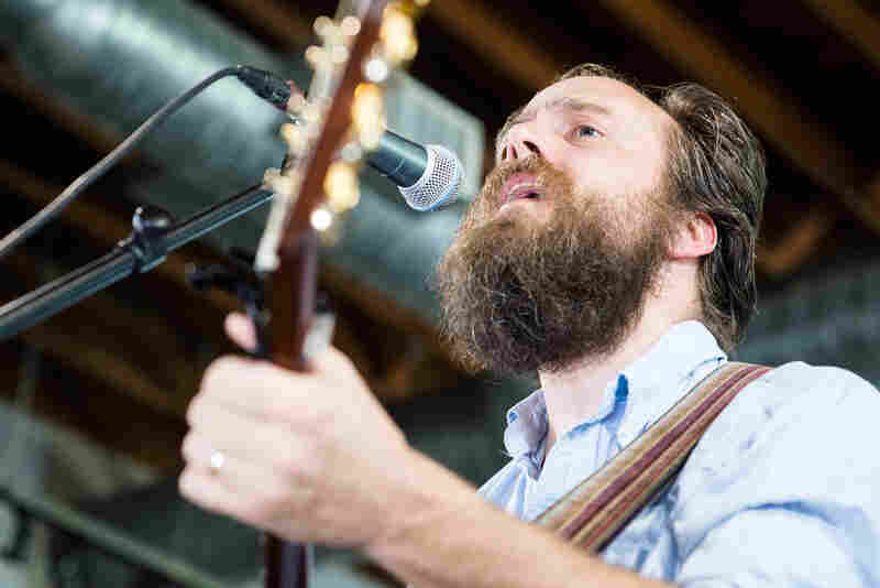 Without a line of horns or funky rhythm section, Iron and Wine's Sam Beam plays a solo acoustic set KEXP's showcase at Mellow Johnny's.