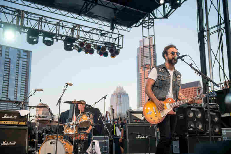 Heavy, angry and hilarious, Molotov pounds Auditorium Shores into submission during a SXSW showcase presented by NPR Music's Alt.Latino.
