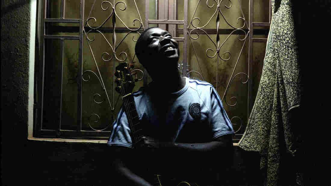 Baba Salah at his home in Bamako, Mali. On his new album, Dangay, he calls attention to what he describes as human-rights violations in the north.