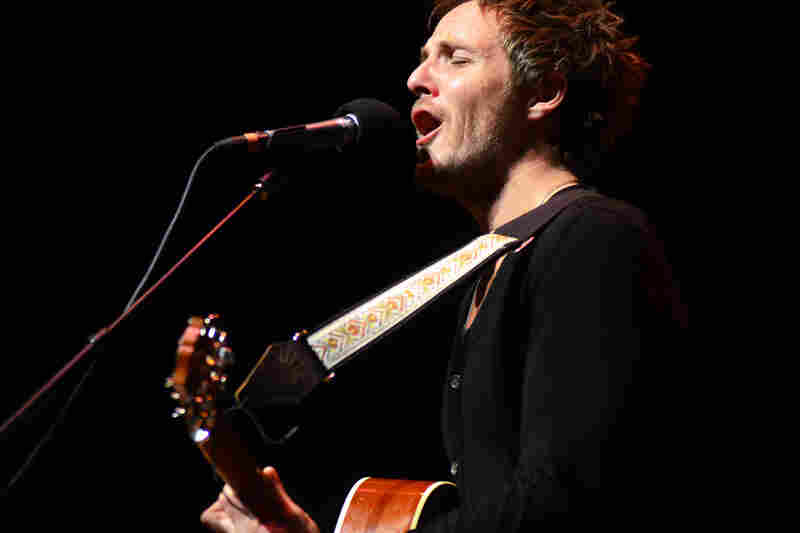 Charlie Mars performing live on Mountain Stage.