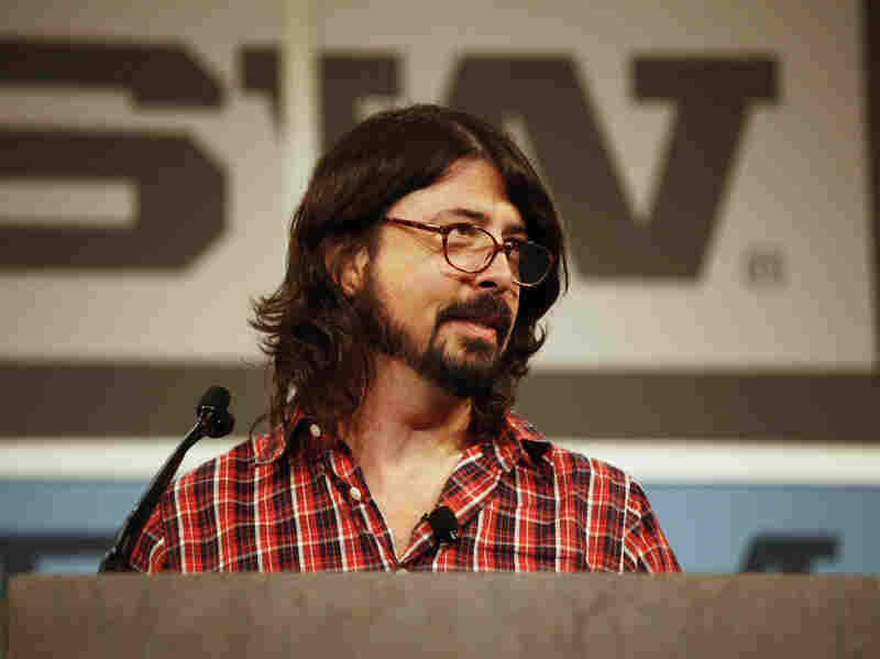 """It's your voice,"" Dave Grohl says at his SXSW keynote speech that began Thursday. ""Everyone's blessed with at least that. And who knows how long it will last?"""