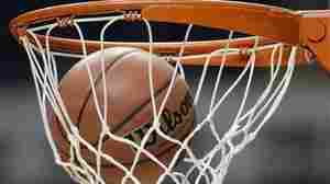 A basketball falls through the net during Florida State's practice for an NCAA college basketball tournament game on Thursday, March 15, 2012, in Nashville, Tenn. Florida State is scheduled to play St. Bonaventure Friday.