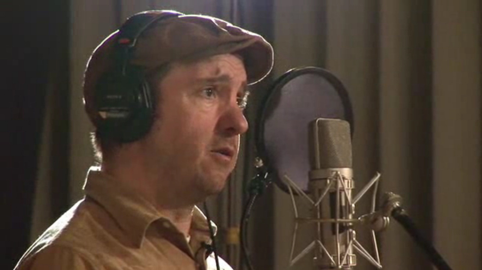 Stephin Merritt records a Project Song for NPR.