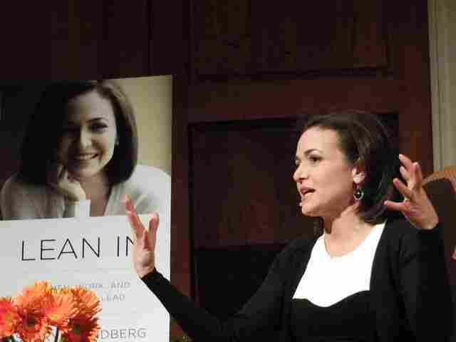 "Sandberg shared her advice for changing the attitudes, perceptions and stereotypes about women in the workplace. Adding some humor to the conversation, Sandberg said she was once warned, ""If you give a talk on women, people will think you're a woman!"""