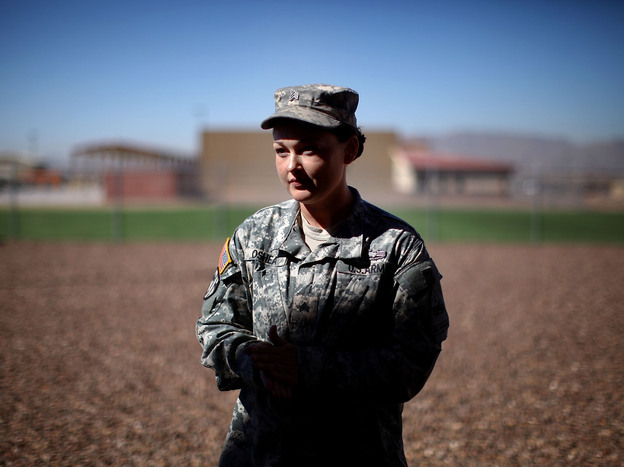 Sgt. Jaclyn O'Shea led a FET on two tours in Afghanistan.