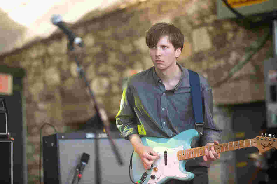 Parquet Courts' penchant for Television and other '80s post-punk bands that you discover in college or at the record store is endearing, but ultimately, the four young chaps' set at Stubb's makes you want to pick up your own guitar.