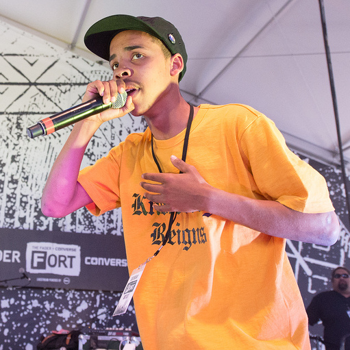 Earl Sweatshirt performs at SXSW 2013.