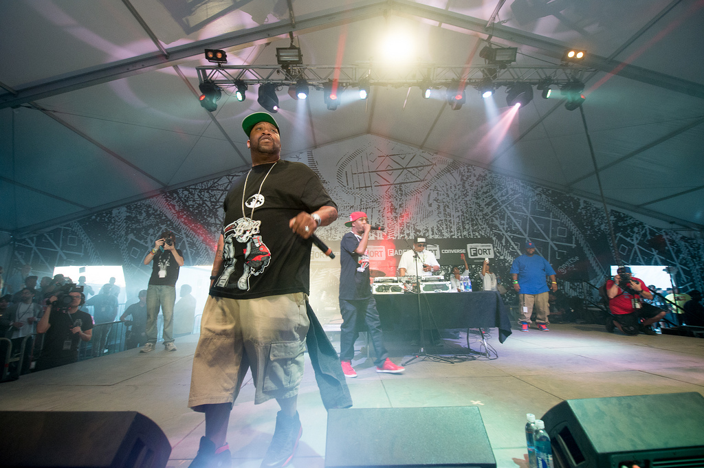 Bun B popped up a couple times over SXSW, but at the Fader Fort pays tribute to his late friend and former UGK member, Pimp C.