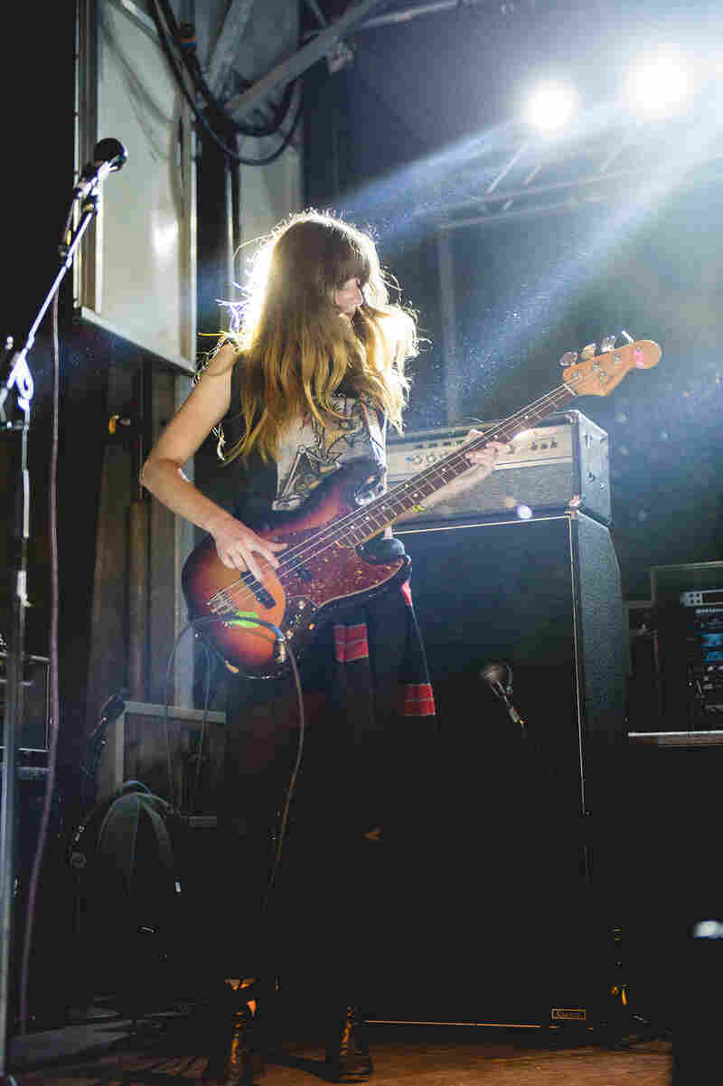 Austin's Ringo Deathstarr brings the fuzz-rock at the Red Bull Sound Select Party.