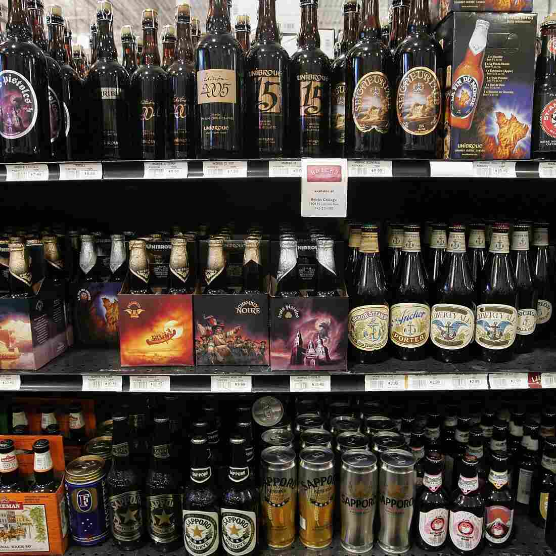 Craft beers for sale in Chicago. Craft beer has about a 6 percent market share in the U.S. beer market, which is dominated by Anheuser-Busch InBev and MillerCoors.