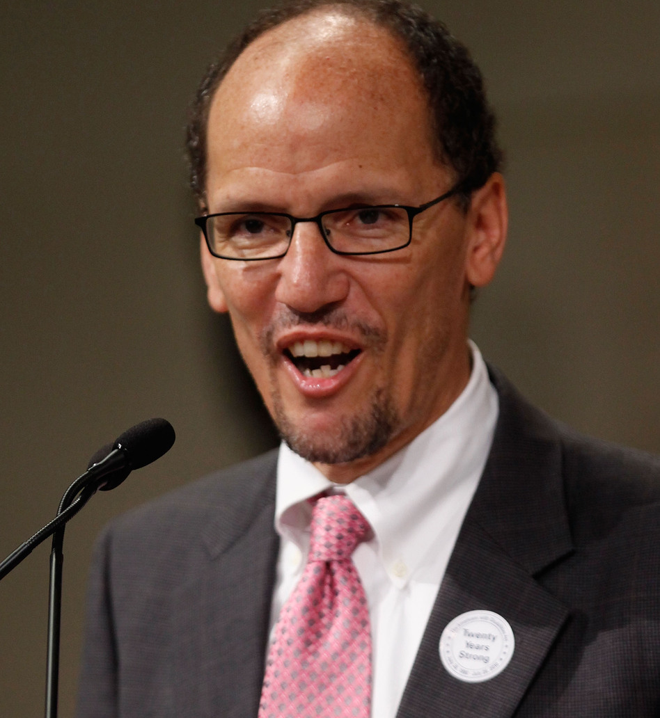 Assistant Attorney General for the Civil Rights Division Thomas Perez.