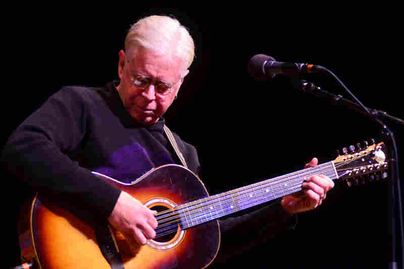Bruce Cockburn performing live at Mountain Stage.