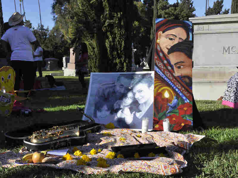 A Day of the Dead altar in L.A.