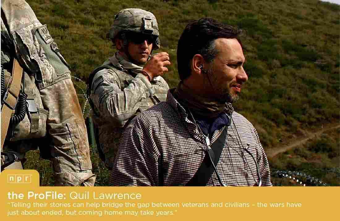 NPR Veterans Correspondent Quil Lawrence in Afghanistan.