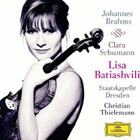 Lisa Batiashvili plays Brahms.