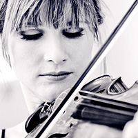 Lisa Batiashvili plays the Stradivarius used to help birth Brahms' great Violin Concerto in D.