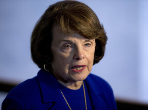 Sen. Dianne Feinstein, D-Calif., has been told that her assault weapons ban will not be included in the Democratic gun bill to be introd