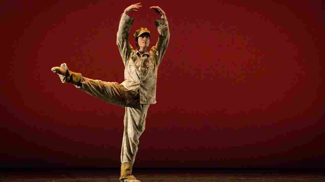 Dancer Josh Burnham plays the role of Colin Wolfe in the Manassas Ballet Theatre production Colin.