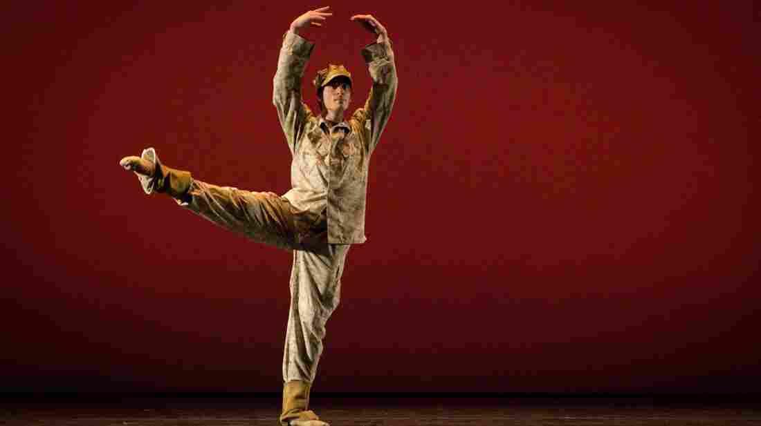Dancer Josh Burnham plays the role of Colin Wolfe in the Manassas Ballet Theatre production Colin.