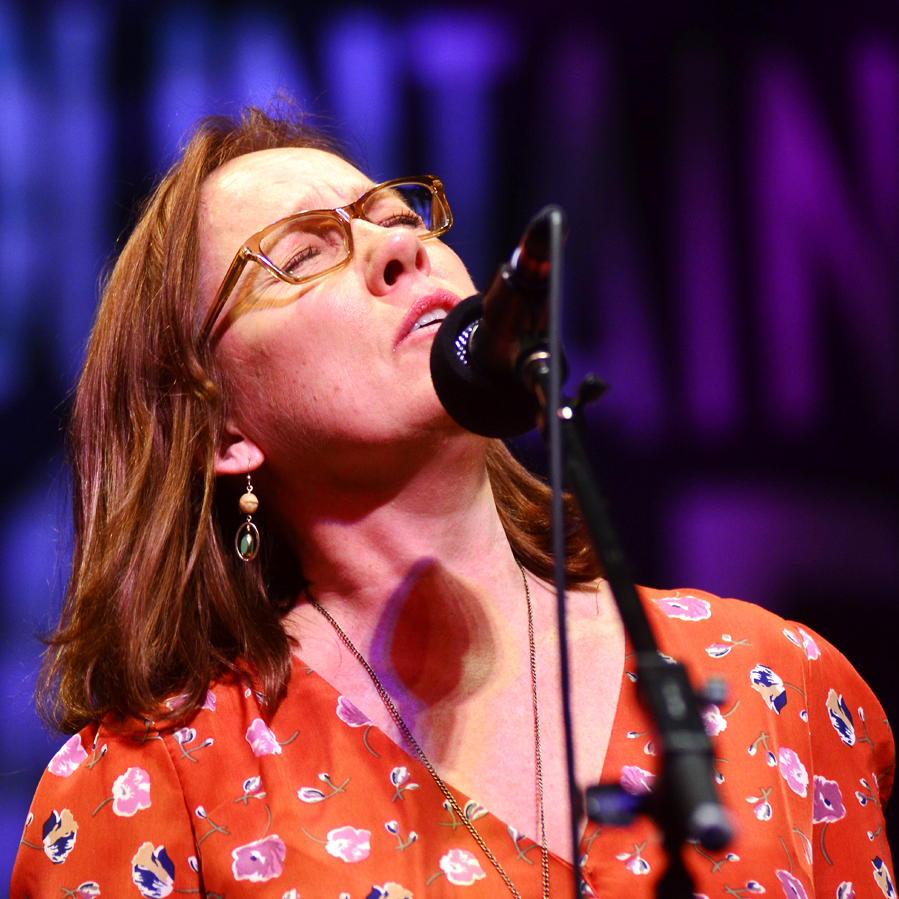 Iris DeMent performs live on Mountain Stage.