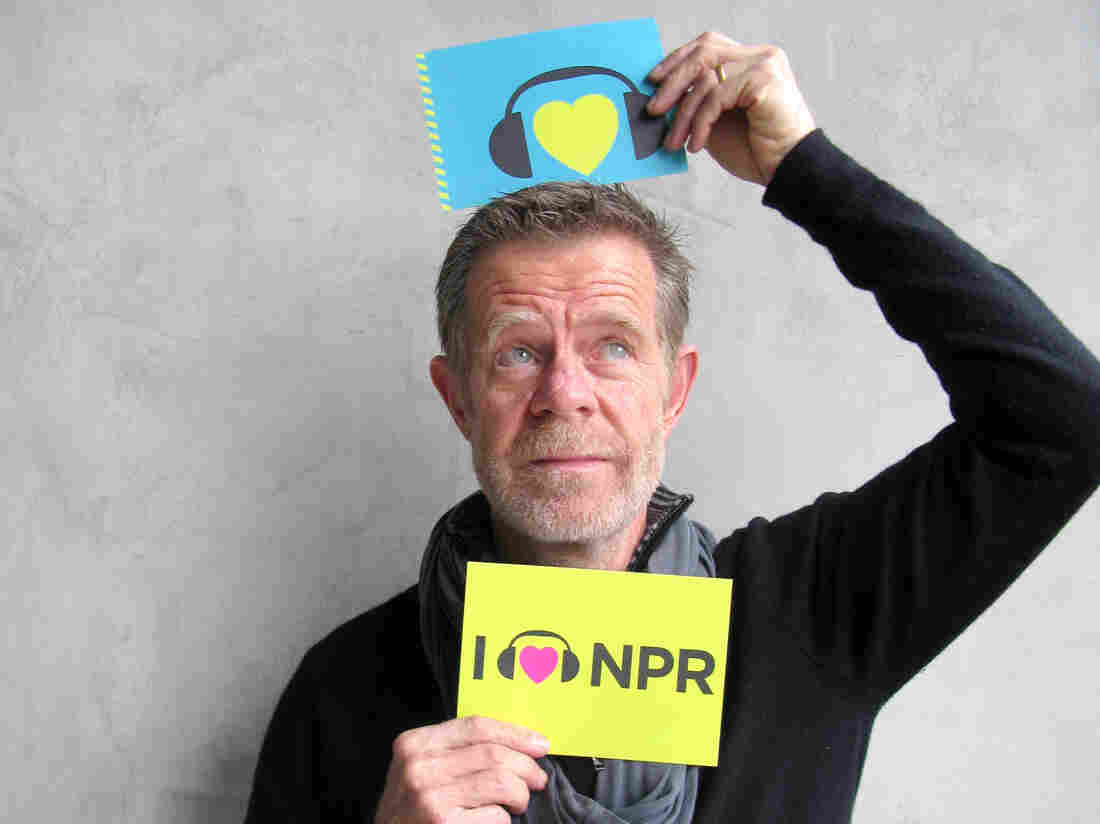 William H. Macy at NPR West.